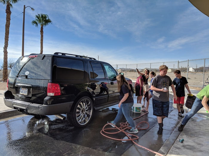 Junior Class Car Wash