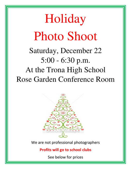 Photo Shoot Flyer
